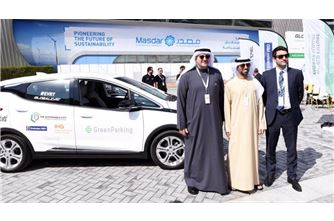 Electric cars begin UAE - Oman trip from WFES