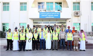 The field visit of Al Ain Cement Factory
