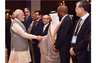 The Minister of Energy and Industry chairs UAE delegation at World Energy Forum (IEF) at its 16th Session in New Delhi