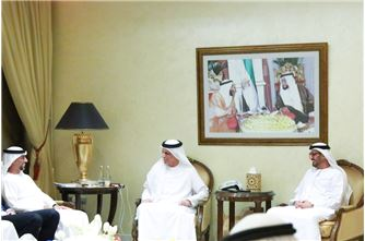 Ruler of Ras Al Khaimah continues to welcome the well-wishers in the holy month