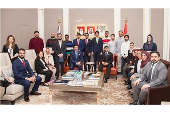 Minister of Energy visits new UAE Embassy in London