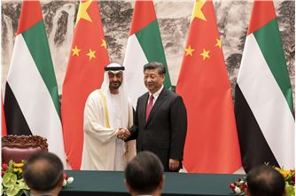 Mohamed bin Zayed, Xi Jinping witness signing of agreements