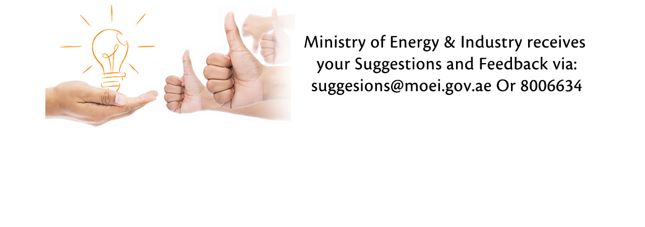 Ministry of Energy suggestions